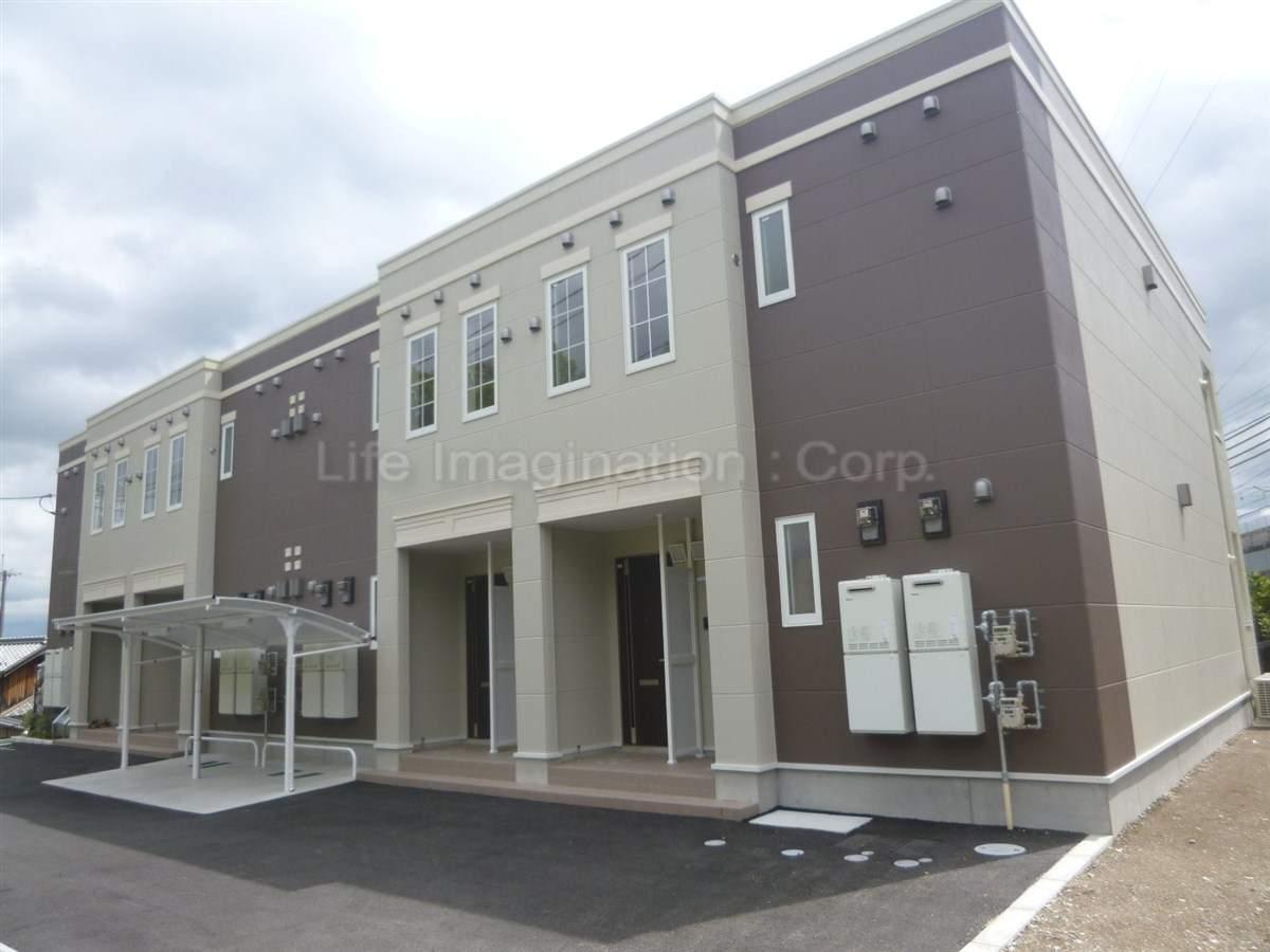 滋賀県大津市、比叡山坂本駅徒歩9分の築3年 2階建の賃貸アパート