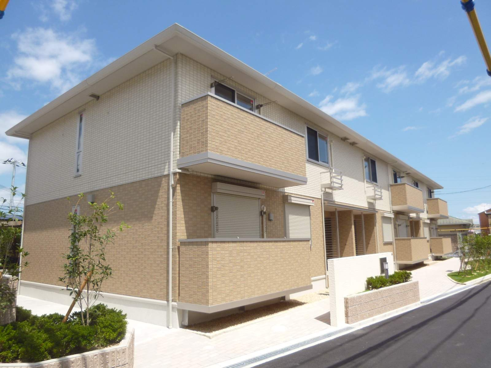 滋賀県大津市、唐崎駅徒歩57分の築3年 2階建の賃貸アパート