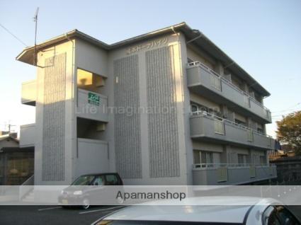 滋賀県高島市、新旭駅徒歩20分の築23年 3階建の賃貸マンション