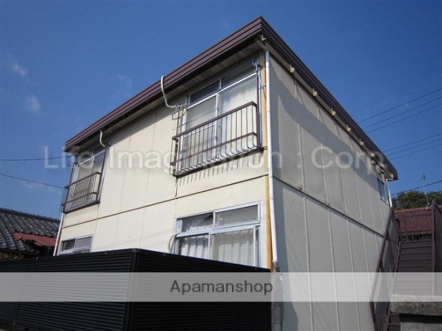 滋賀県大津市、石山駅徒歩23分の築39年 2階建の賃貸アパート