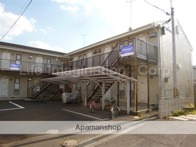 滋賀県大津市、石山駅徒歩16分の築28年 2階建の賃貸アパート
