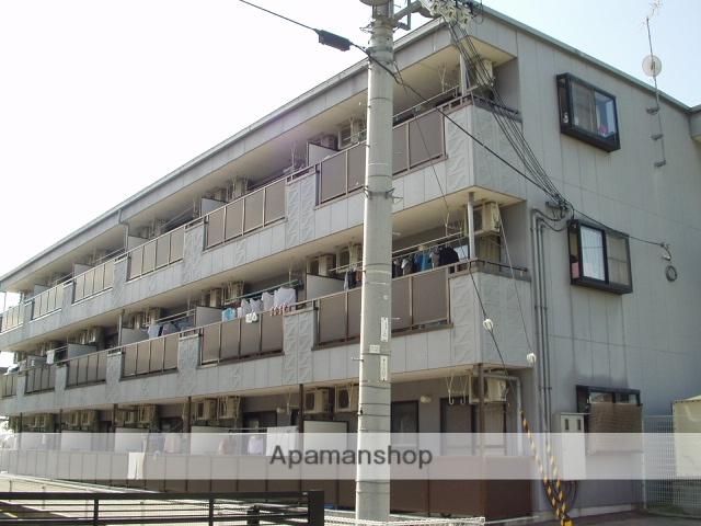 滋賀県米原市、米原駅徒歩8分の築20年 3階建の賃貸アパート