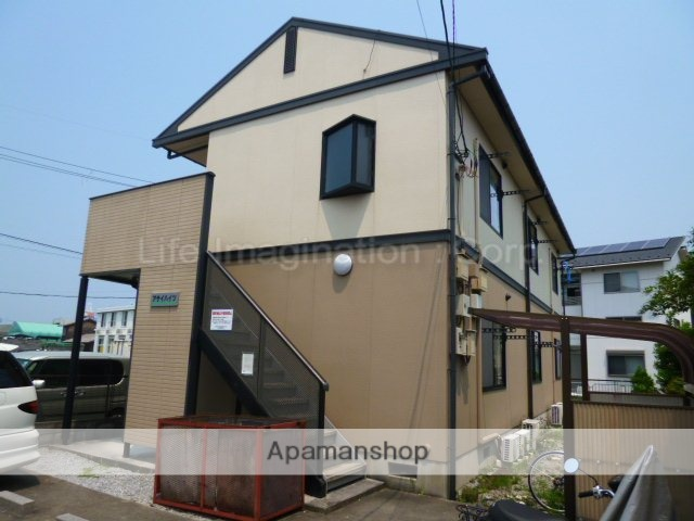 滋賀県彦根市、米原駅徒歩73分の築21年 2階建の賃貸アパート
