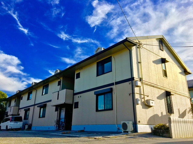 滋賀県彦根市、南彦根駅徒歩16分の築22年 2階建の賃貸アパート