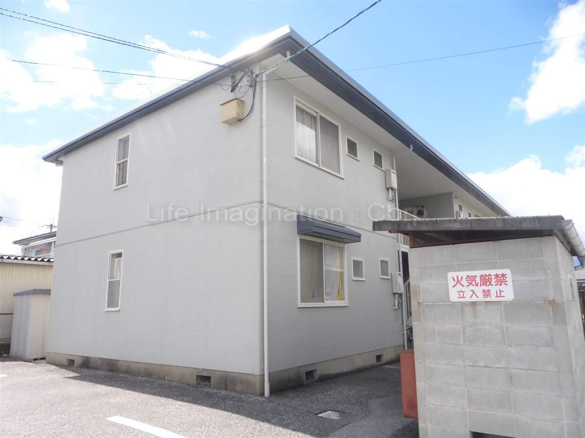 滋賀県彦根市、河瀬駅徒歩12分の築26年 2階建の賃貸アパート