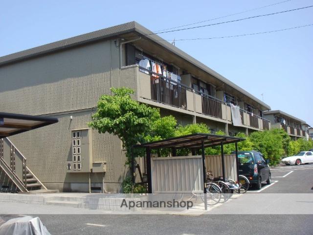 滋賀県守山市、野洲駅徒歩77分の築22年 2階建の賃貸アパート