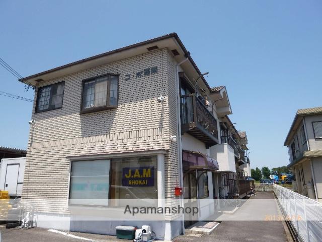 滋賀県守山市、野洲駅徒歩105分の築25年 2階建の賃貸アパート