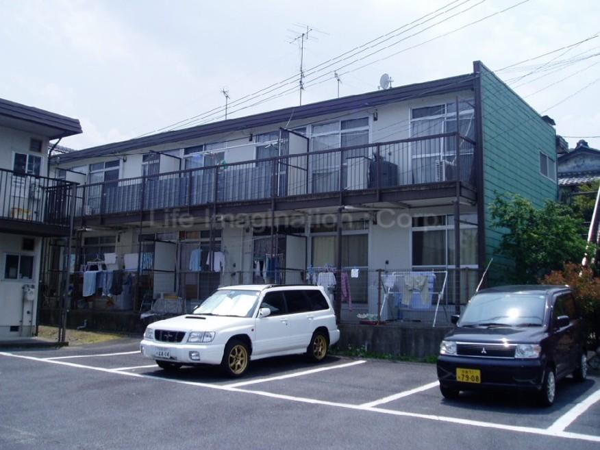 滋賀県大津市、大津京駅徒歩36分の築35年 2階建の賃貸アパート