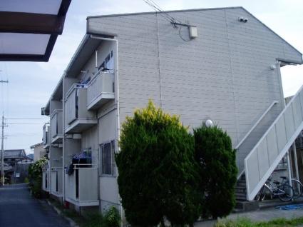 滋賀県大津市、唐崎駅徒歩9分の築26年 2階建の賃貸アパート