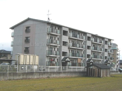 滋賀県大津市、大津京駅徒歩20分の築21年 4階建の賃貸マンション