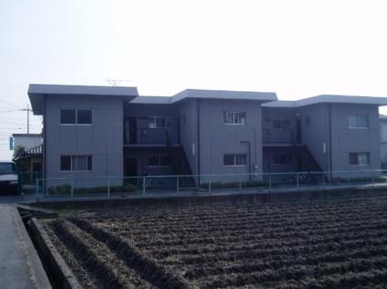 滋賀県大津市、唐崎駅徒歩16分の築43年 2階建の賃貸マンション