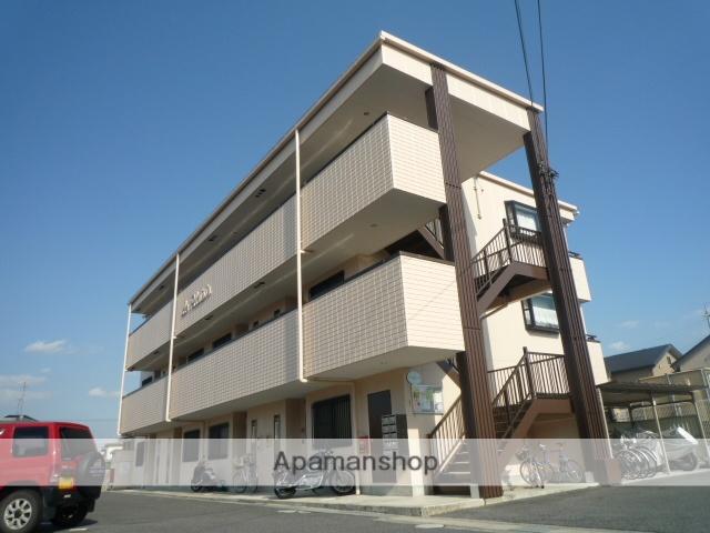 滋賀県守山市、野洲駅徒歩71分の築17年 3階建の賃貸マンション