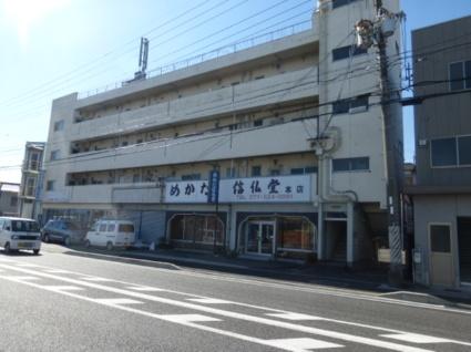 滋賀県大津市、膳所駅徒歩4分の築41年 4階建の賃貸マンション