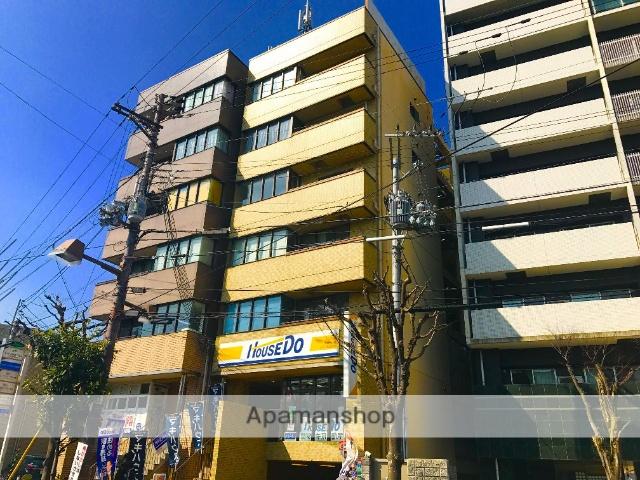 滋賀県大津市、石山駅徒歩3分の築25年 6階建の賃貸マンション