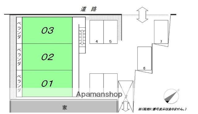 滋賀県大津市、膳所駅徒歩16分の築24年 2階建の賃貸アパート