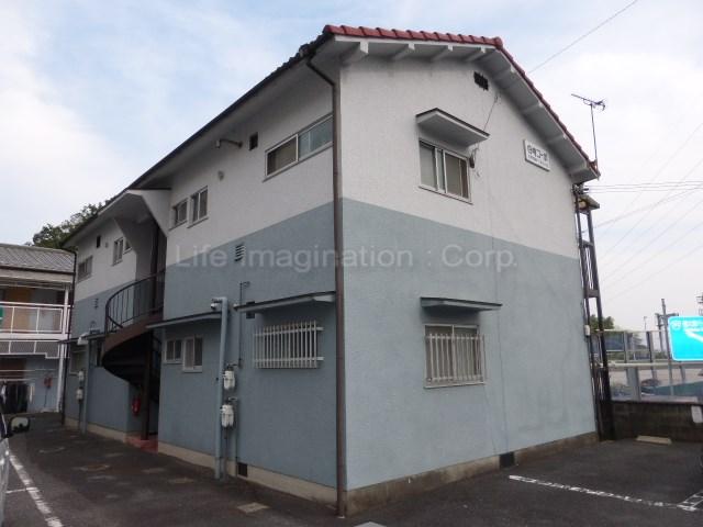 滋賀県大津市、大津駅徒歩89分の築26年 2階建の賃貸アパート
