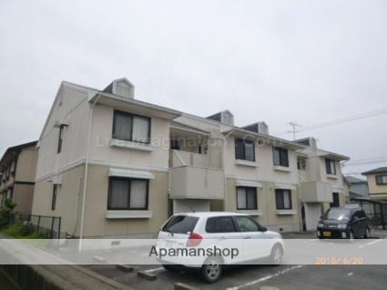 滋賀県守山市、野洲駅徒歩42分の築23年 2階建の賃貸アパート