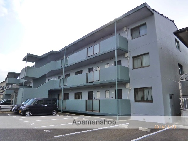 滋賀県守山市、野洲駅徒歩50分の築13年 3階建の賃貸マンション