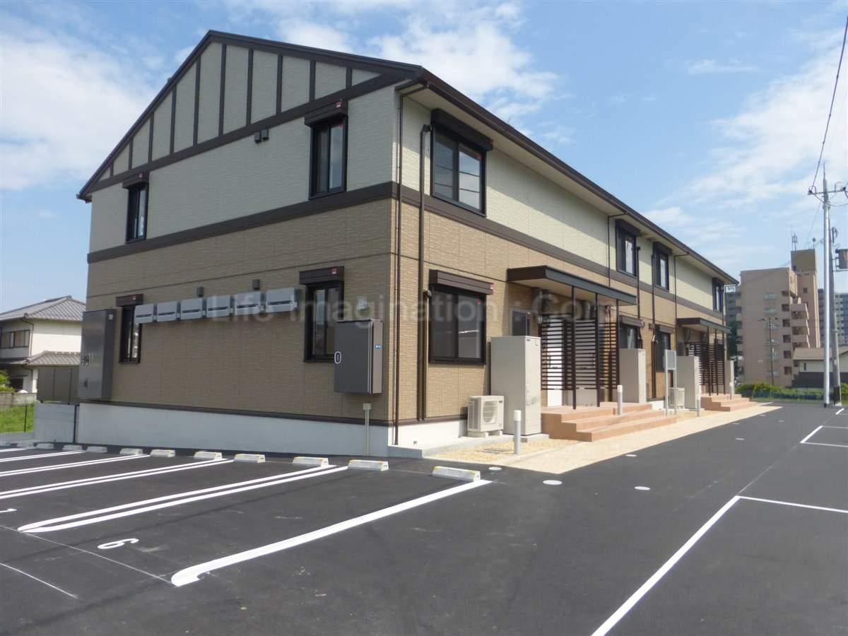 滋賀県大津市、大津京駅徒歩6分の築1年 2階建の賃貸アパート