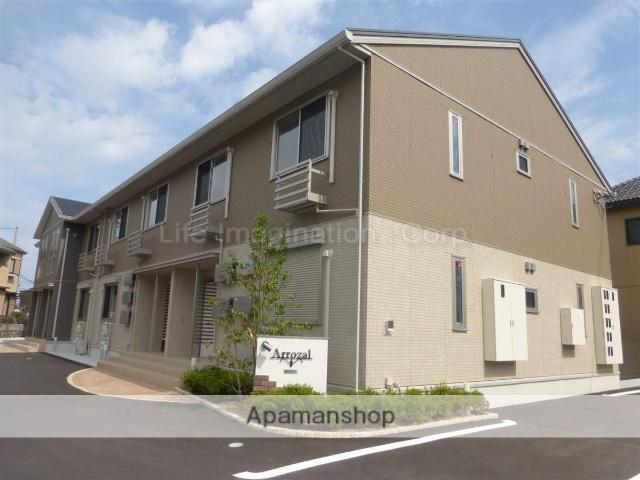 滋賀県大津市、唐崎駅徒歩13分の築1年 2階建の賃貸アパート