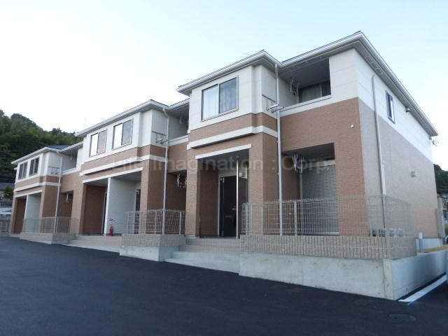 滋賀県大津市、唐崎駅徒歩8分の築1年 2階建の賃貸アパート