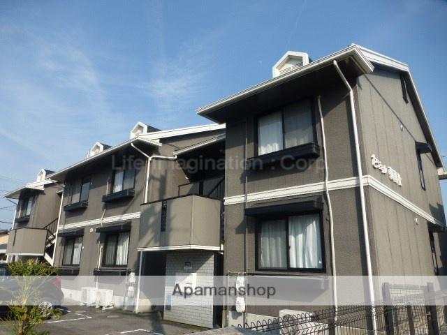 滋賀県大津市、比叡山坂本駅徒歩15分の築20年 2階建の賃貸マンション