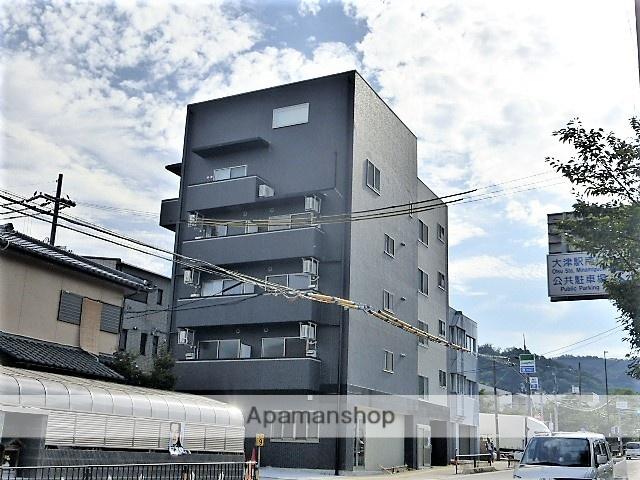 滋賀県大津市、膳所駅徒歩20分の新築 5階建の賃貸マンション
