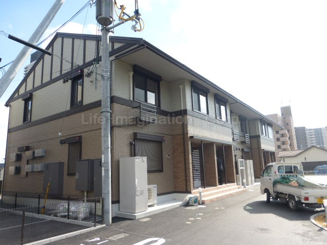滋賀県大津市、大津京駅徒歩6分の新築 2階建の賃貸アパート