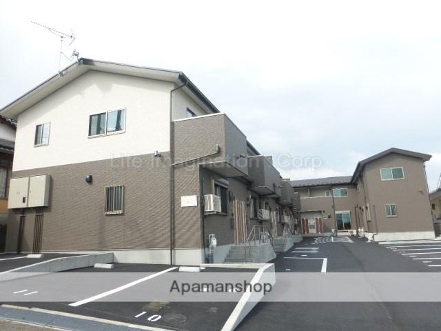 滋賀県大津市、比叡山坂本駅徒歩15分の新築 2階建の賃貸テラスハウス