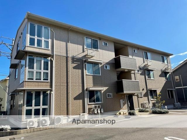 滋賀県大津市、大津京駅徒歩31分の新築 3階建の賃貸アパート