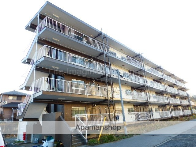 滋賀県大津市、石山寺駅徒歩33分の築50年 4階建の賃貸マンション