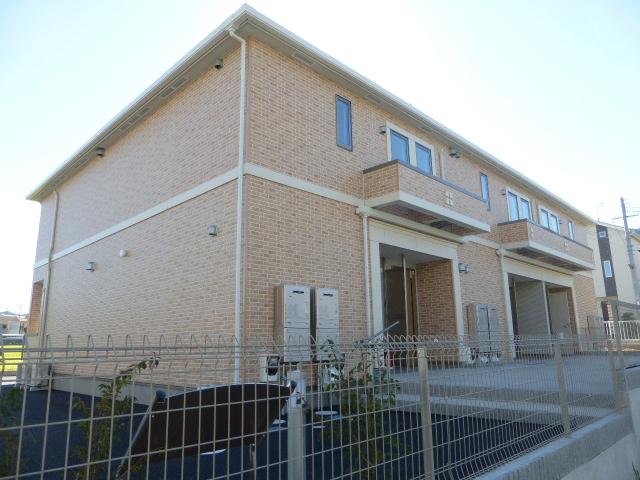 滋賀県大津市、唐崎駅徒歩18分の新築 2階建の賃貸アパート