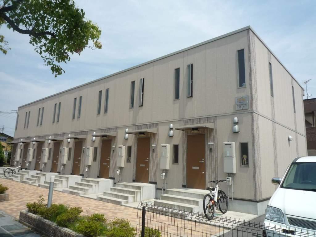 滋賀県守山市、野洲駅徒歩57分の築9年 2階建の賃貸アパート