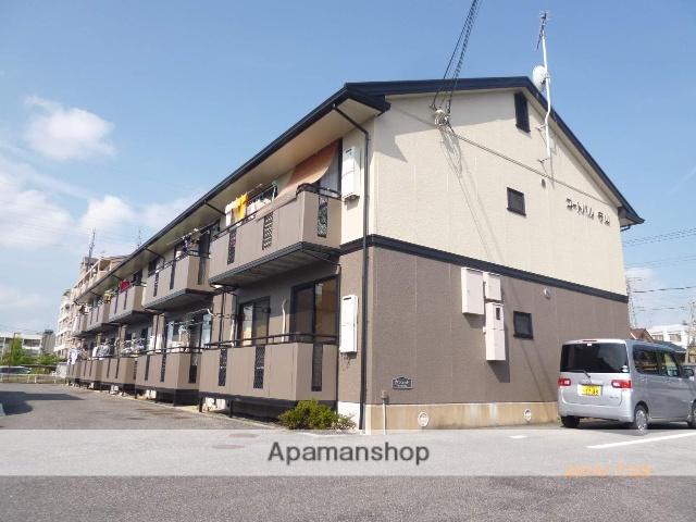 滋賀県守山市、野洲駅徒歩76分の築20年 2階建の賃貸アパート