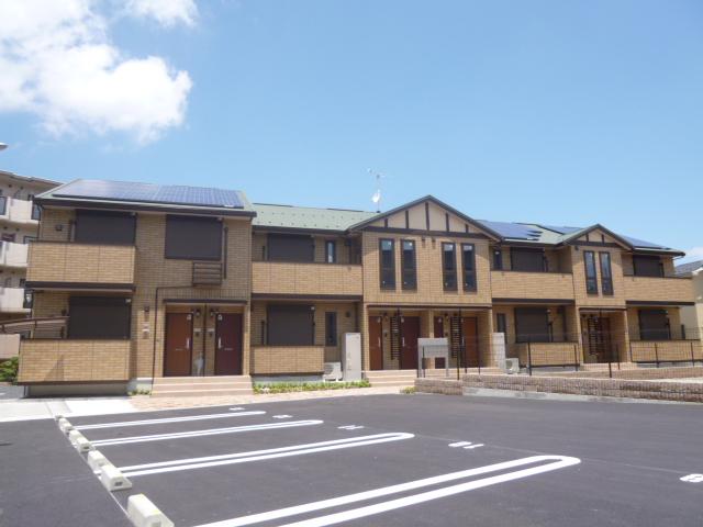 滋賀県大津市、瀬田駅徒歩76分の築4年 2階建の賃貸アパート
