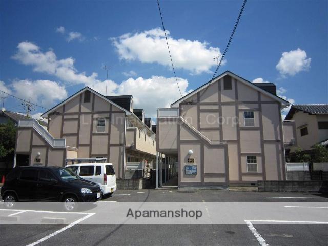 滋賀県大津市、唐崎駅徒歩25分の築24年 2階建の賃貸アパート