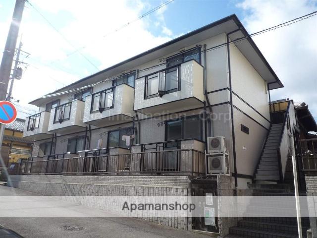 滋賀県大津市、膳所駅徒歩32分の築17年 2階建の賃貸アパート