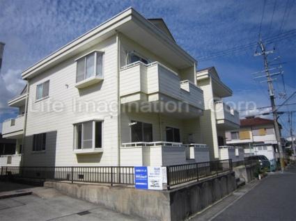 滋賀県大津市、石山駅徒歩19分の築29年 2階建の賃貸アパート