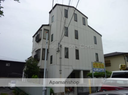 滋賀県大津市、石山駅徒歩1分の築18年 3階建の賃貸マンション