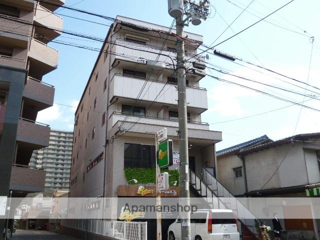 滋賀県大津市、瀬田駅徒歩44分の築23年 5階建の賃貸マンション