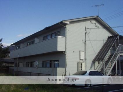 滋賀県甲賀市、貴生川駅徒歩36分の築24年 2階建の賃貸アパート