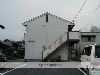 滋賀県甲賀市、貴生川駅コミュニティーバスバス12分南町一丁目停下車後徒歩10分の築26年 2階建の賃貸アパート