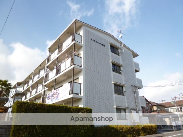 滋賀県湖南市、甲西駅徒歩10分の築28年 4階建の賃貸マンション