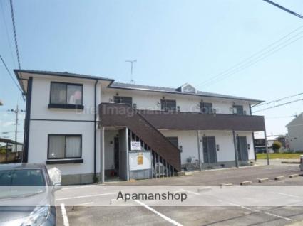 滋賀県甲賀市、甲南駅徒歩17分の築25年 2階建の賃貸アパート