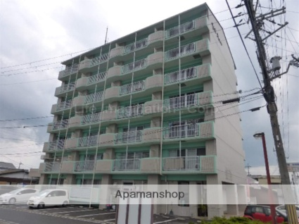 滋賀県甲賀市、甲賀駅徒歩5分の築23年 7階建の賃貸マンション