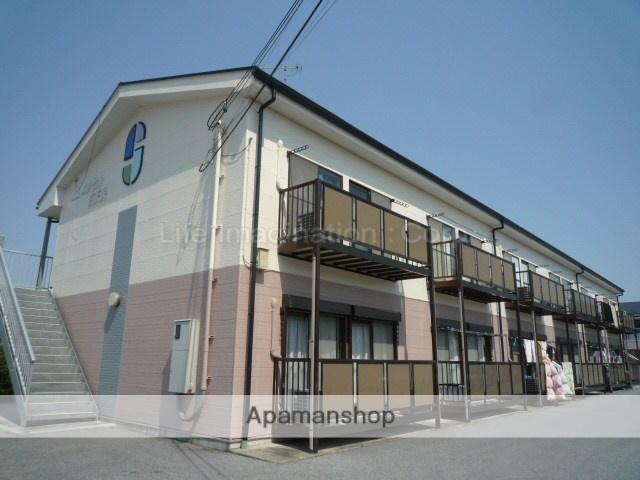 滋賀県東近江市、五箇荘駅徒歩26分の築18年 2階建の賃貸アパート