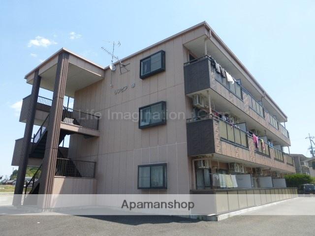滋賀県甲賀市、貴生川駅徒歩11分の築19年 3階建の賃貸マンション