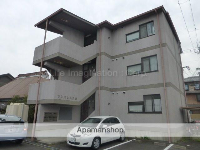 滋賀県甲賀市、甲南駅徒歩75分の築19年 3階建の賃貸マンション