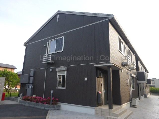 滋賀県東近江市、長谷野駅徒歩34分の築6年 2階建の賃貸アパート