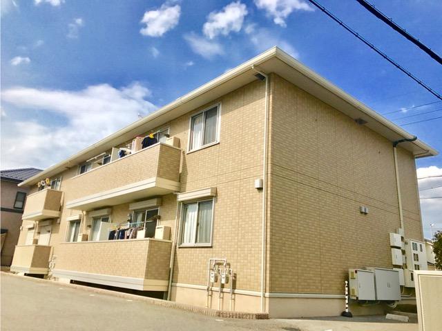 滋賀県近江八幡市、近江八幡駅徒歩15分の築7年 2階建の賃貸アパート